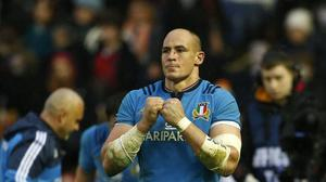 Quintin Geldenhuys believes Sergio Parisse, pictured, would be nailed-on as the best number eight in the world if he were born in New Zealand