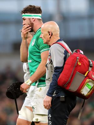 Caelan Doris is expected to be fit to face Wales (Niall Carson/PA)