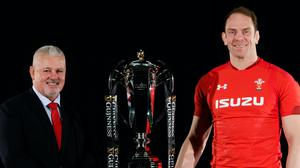 Former Wales head coach Warren Gatland (left) and captain Alun Wyn Jones (right) have been recognised in the delayed 2020 Queen's Birthday Honours list (John Walton/PA)