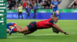 Joe Marchant scored a try in England's victory over Italy (Richard Sellers/PA)