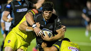 Tim Swinson is determined to bounce back from defeat