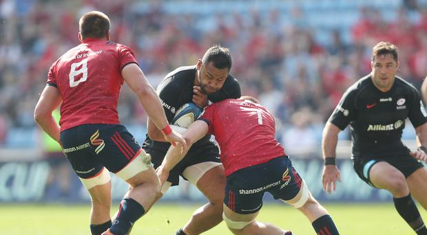 Billy Vunipola was approached by a spectator following Saracens' semi-final win over Munster (David Davies/PA)