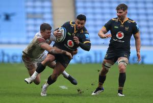 Exeter were beaten comfortably by Wasps at the Ricoh Arena (Mike Egerton/PA)