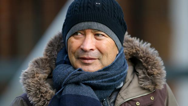 Eddie Jones hopes there will be no divisions in the England camp (Nigel French/PA)