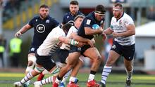 Stuart McInally (centre) has had to recover his confidence (Andrew Matthews/PA)