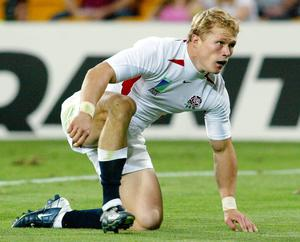 Josh Lewsey scored five tries in the tournament (Phil Noble/PA)