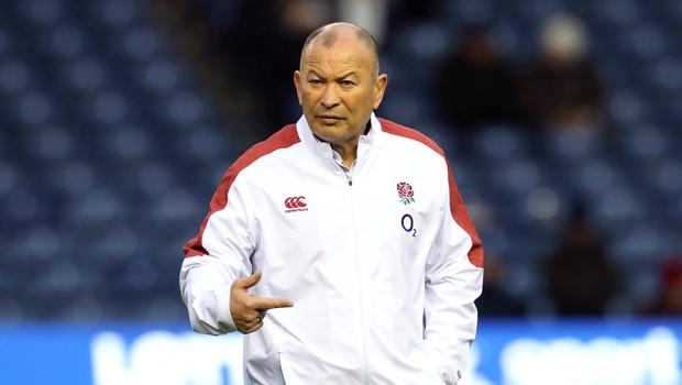 England head coach Eddie Jones criticised the hostile reception at Murrayfield (Andrew Milligan/PA)