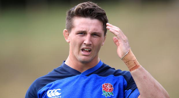 Tom Curry could yet face Ireland this weekend (Adam Davy/PA)