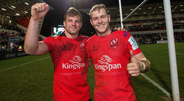 Club scene: Will Addison and Jordi Murphy are on Ulster duty