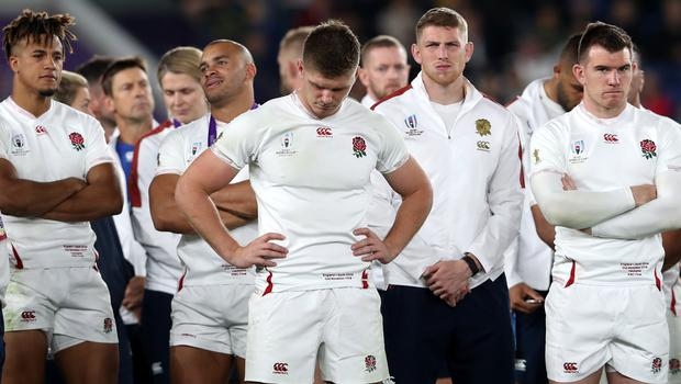 England lost 32-12 in last autumn's World Cup final, David Davies/PA