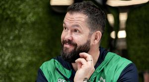 Testing times: Andy Farrell faces big challenges ahead