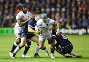 Jack Nowell misses the France match after rolling his ankle