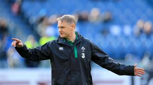 Joe Schmidt, pictured, has been backed to team up with old colleague Vern Cotter with the All Blacks