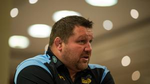 Wasps director of rugby Dai Young was a happy man