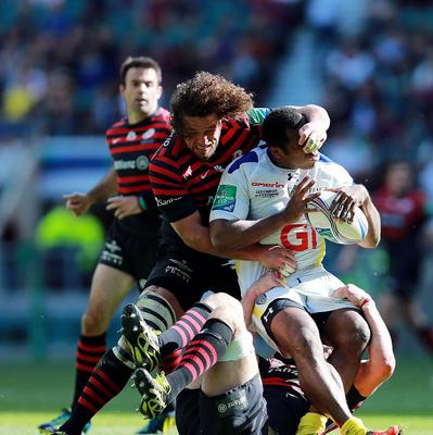 """Saracens flanker Jacques Burger admits his daily routine icing his damaged knee is """"borderline stupid"""""""