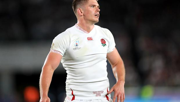 Owen Farrell was one of six Saracens players in the England line-up for the World Cup final (Adam Davy/PA)