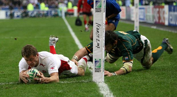 Mark Cueto saw his try against South Africa in the 2007 final disallowed (David Davies/PA)