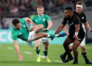 Helping hand: Jacob Stockdale was one of the players who took a pay cut