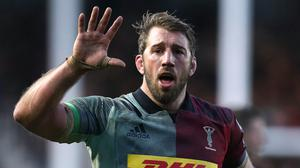 Chris Robshaw was playing his last game for Harlequins (Andrew Matthews/PA)