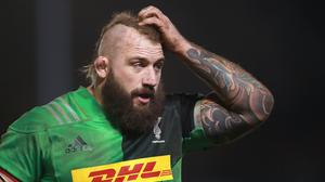 Joe Marler has signed a new long-term contract with Harlequins (Adam Davy/PA)