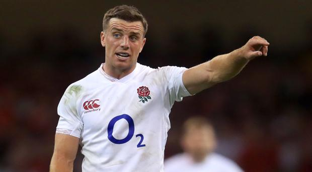 George Ford (pictured) will start alongside Owen Farrell for the first time in 14 months (Adam Davy/PA)