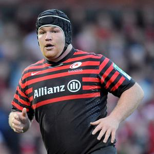Matt Stevens has impressed for Saracens this season
