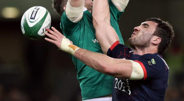 Charles Ollivon is the new captain of France (Brian Lawless/PA)