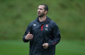 Big stage: Andy Farrell says England relishing the pressure