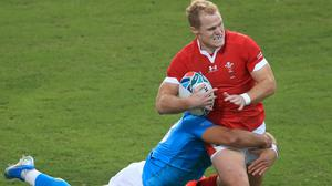 Wales' Aled Davies is joining Saracens (Adam Davy/PA)