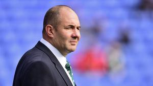 """London Irish head coach Tom Coventry said after the 20-15 defeat of Newcastle: """"I'm sure it won't go down in the highlights package of rugby play in the stadium."""""""