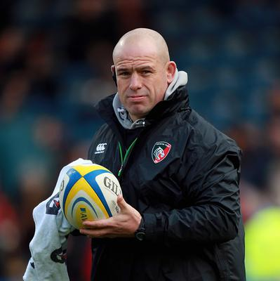 Leicester head coach Richard Cockerill saw his side beat the Ospreys in the LV= Cup.