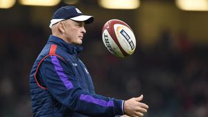 Vern Cotter was forced to make a late change to his Scotland XV