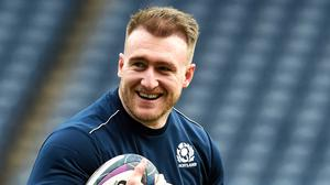 Stuart Hogg aims to cut loose against France (Ian Rutherford/PA)