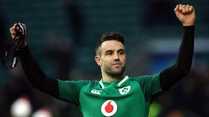 Conor Murray, pictured, has been backed to hit top form straight away if pressed into action against New Zealand (Paul Harding/PA)