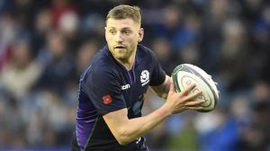 Finn Russell has promised Scotland will throw everything at France (Ian Rutherford/PA)