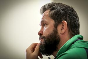 Gutted: Ireland head coach Andy Farrell says his men were left devastated after another Six Nations fixture was cancelled