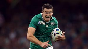 Johnny Sexton is set to be fit for the start of the Six Nations