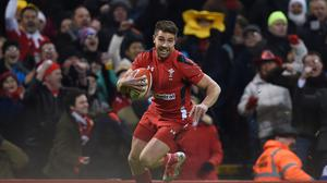 Wales scrum-half Rhys Webb, pictured, has signed a dual contract with the WRU and Ospreys