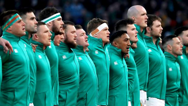 Ireland will line up against defending Six Nations champions Wales (Donall Farmer/PA)