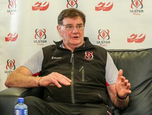 Big challenge: Willie Anderson knows Ulster 'A' face a difficult task against Bedford