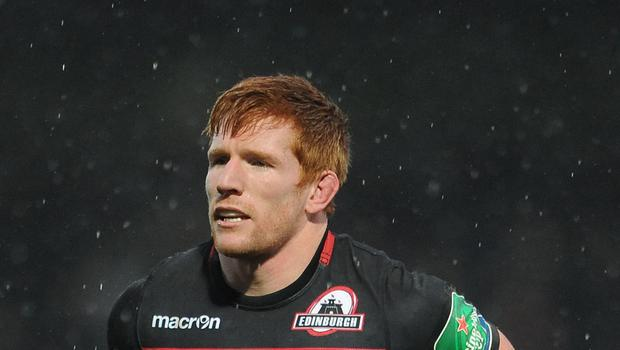 Roddy Grant went over for Edinburgh but they were beaten by Zebre