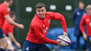 George Ford has been named on the bench against Ireland (Justin Tallis/PA)