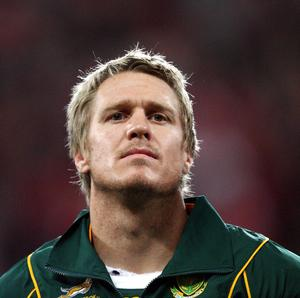 Jean De Villiers will lead out South Africa against Scotland at Murrayfield on Sunday