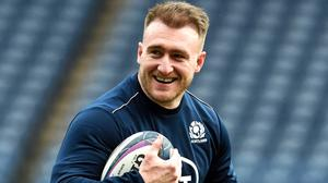 Stuart Hogg will aim to become the first Scottish captain to beat England at Twickenham since Jim Aitken in 1983 (Ian Rutherford/PA)