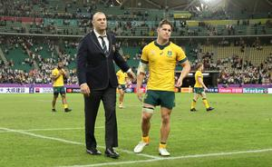 Australia suffered frustration at last year's Rugby World Cup, losing to England in the quarter-finals (David Davies/PA)