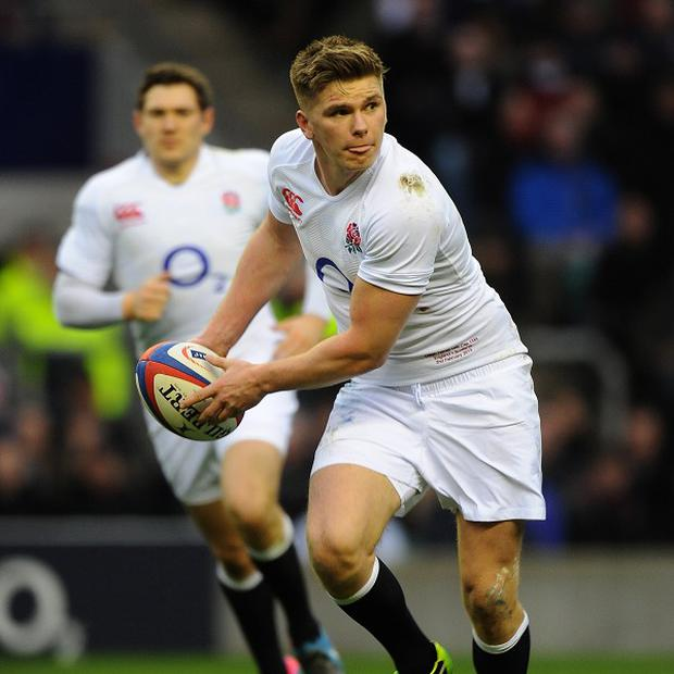 England's Owen Farrell could play his way into Lions contention