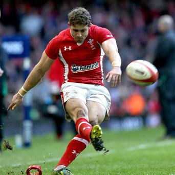 Leigh Halfpenny has called for a Wales response this weekend