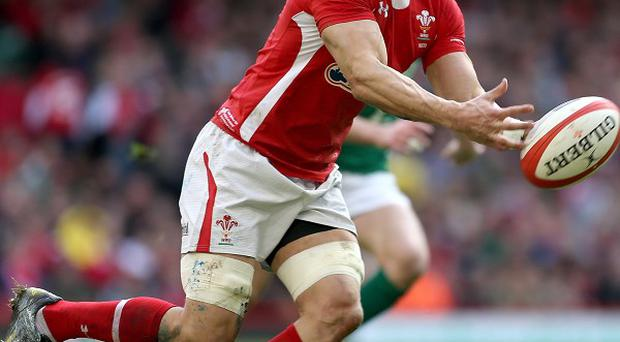Sam Warburton is out with a stinger injury