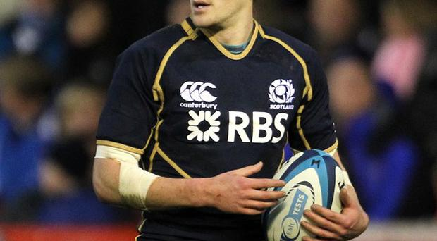 Henry Pyrgos played just six minutes in Scotland's defeat to England