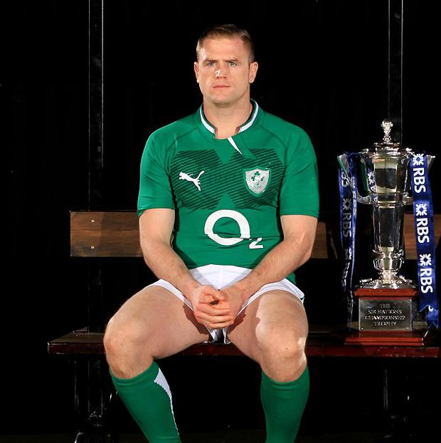 Jamie Heaslip was chosen to captain Ireland for the 2013 RBS 6 Nations